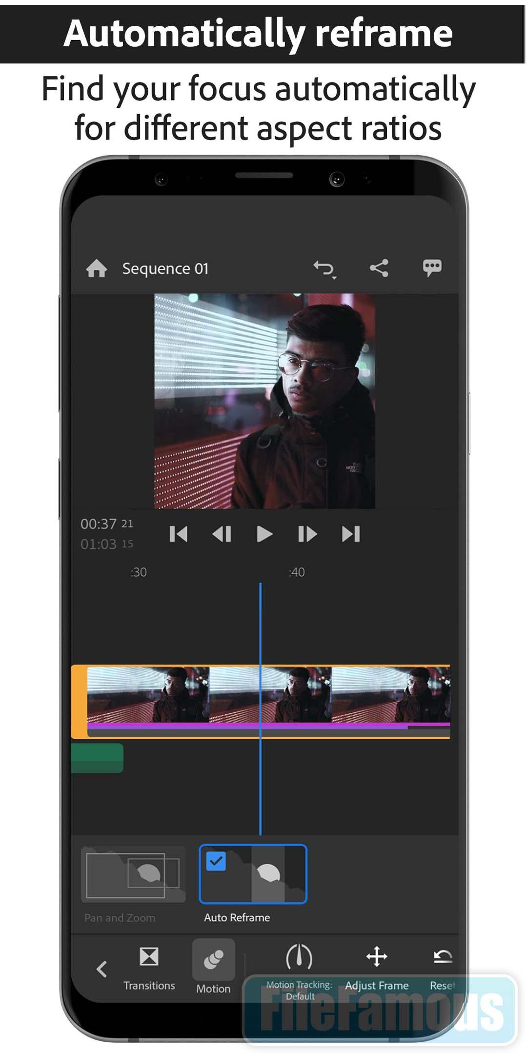 adobe premiere rush cc apk screenshot