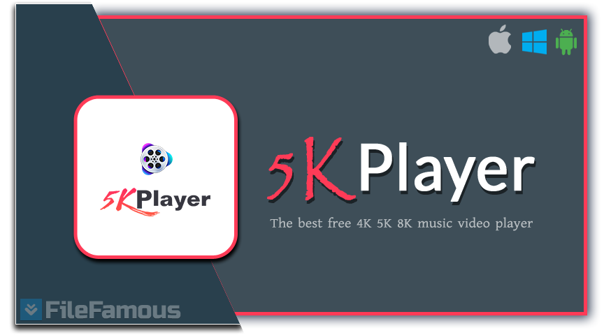 5KPlayer Logo Cover Banner Download