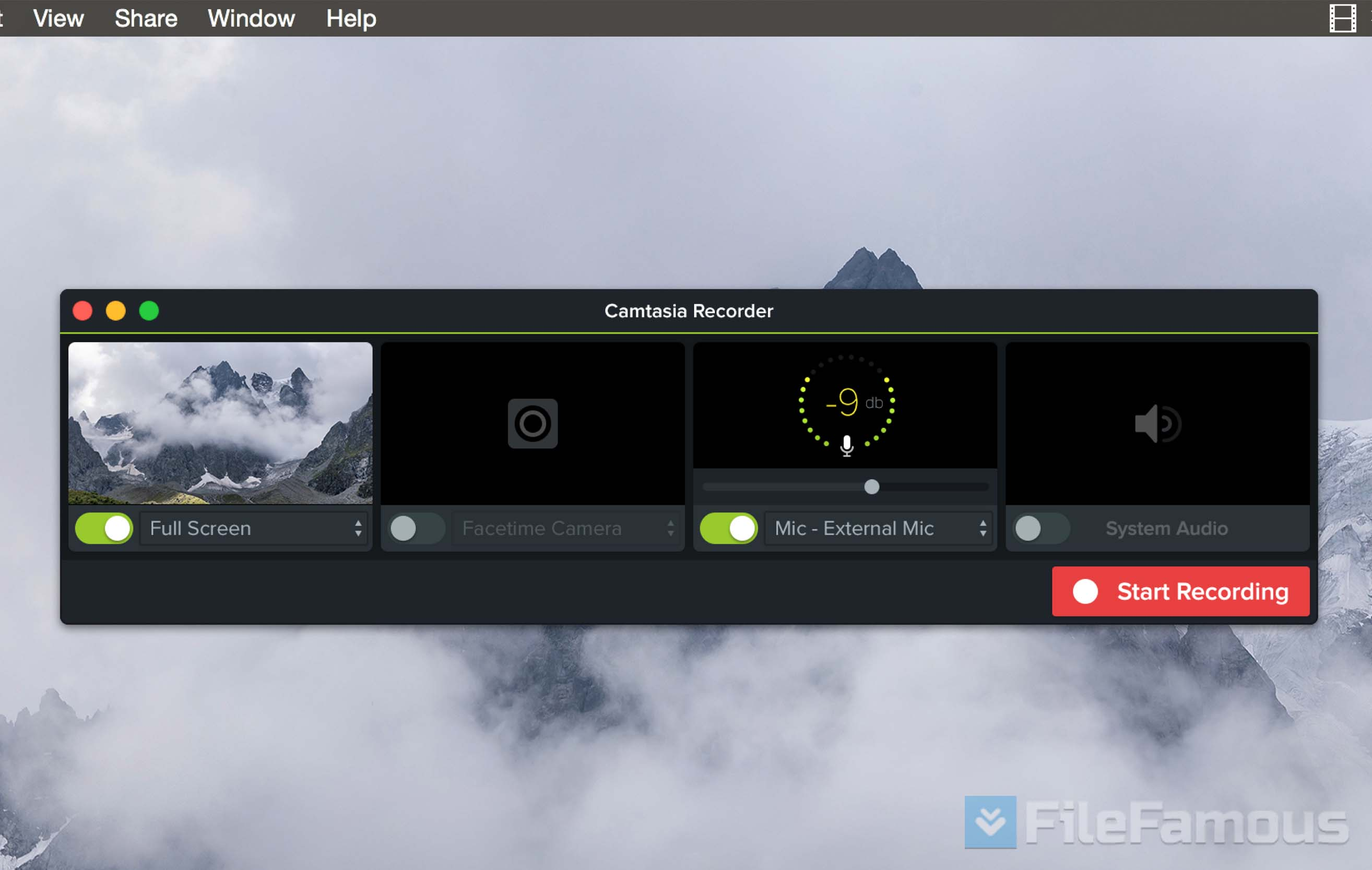 camtasia mac screenshot