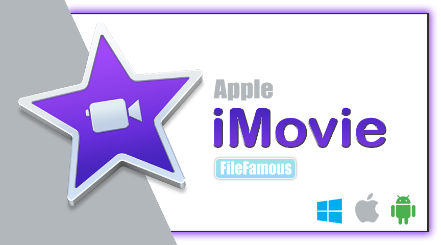 Apple iMovie Logo Cover Banner Png SVG