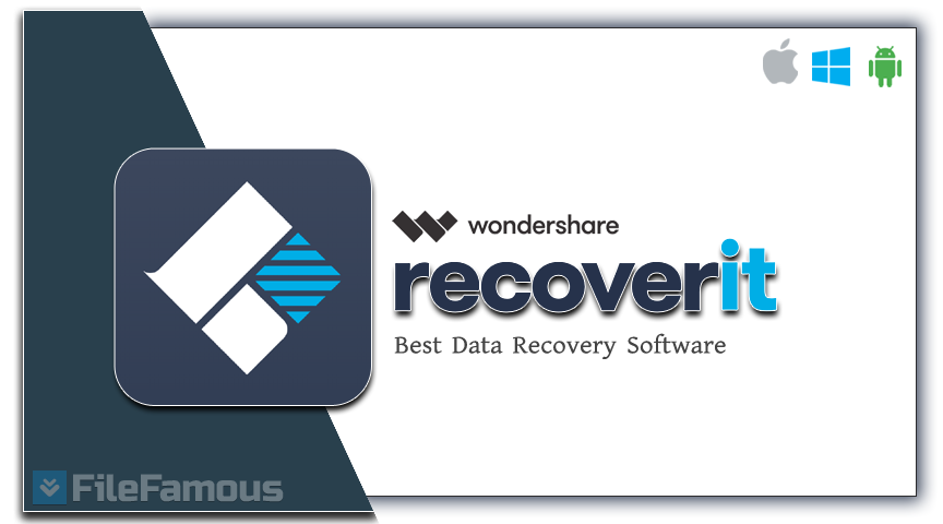wondershare recoverit logo icon cover banner box svg png