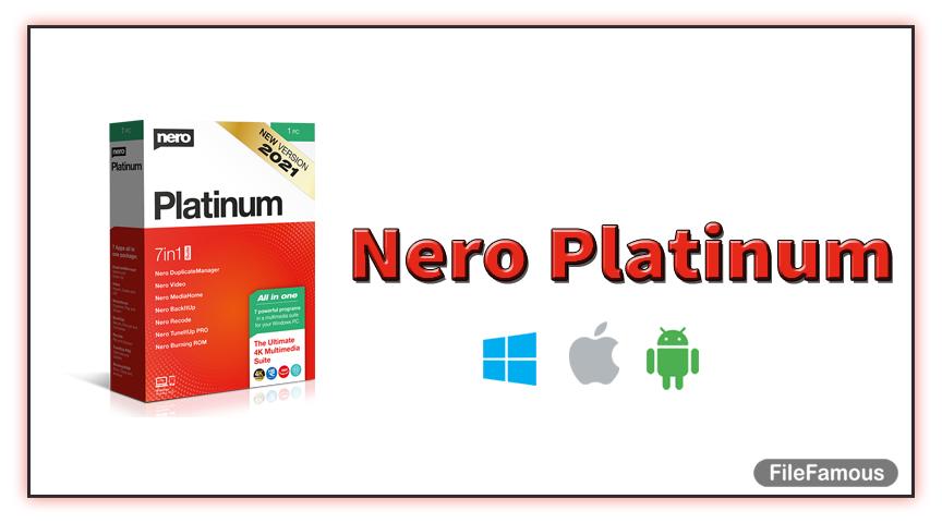nero platinum cover