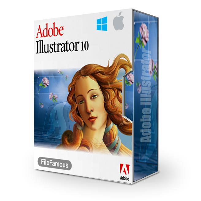 Adobe illustrator 10 BOX
