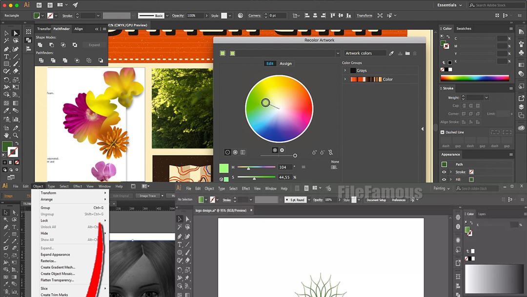 adobe illustrator 11 screenshot