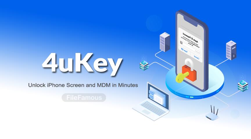 4ukey iphone unlocker banner logo icon png svg