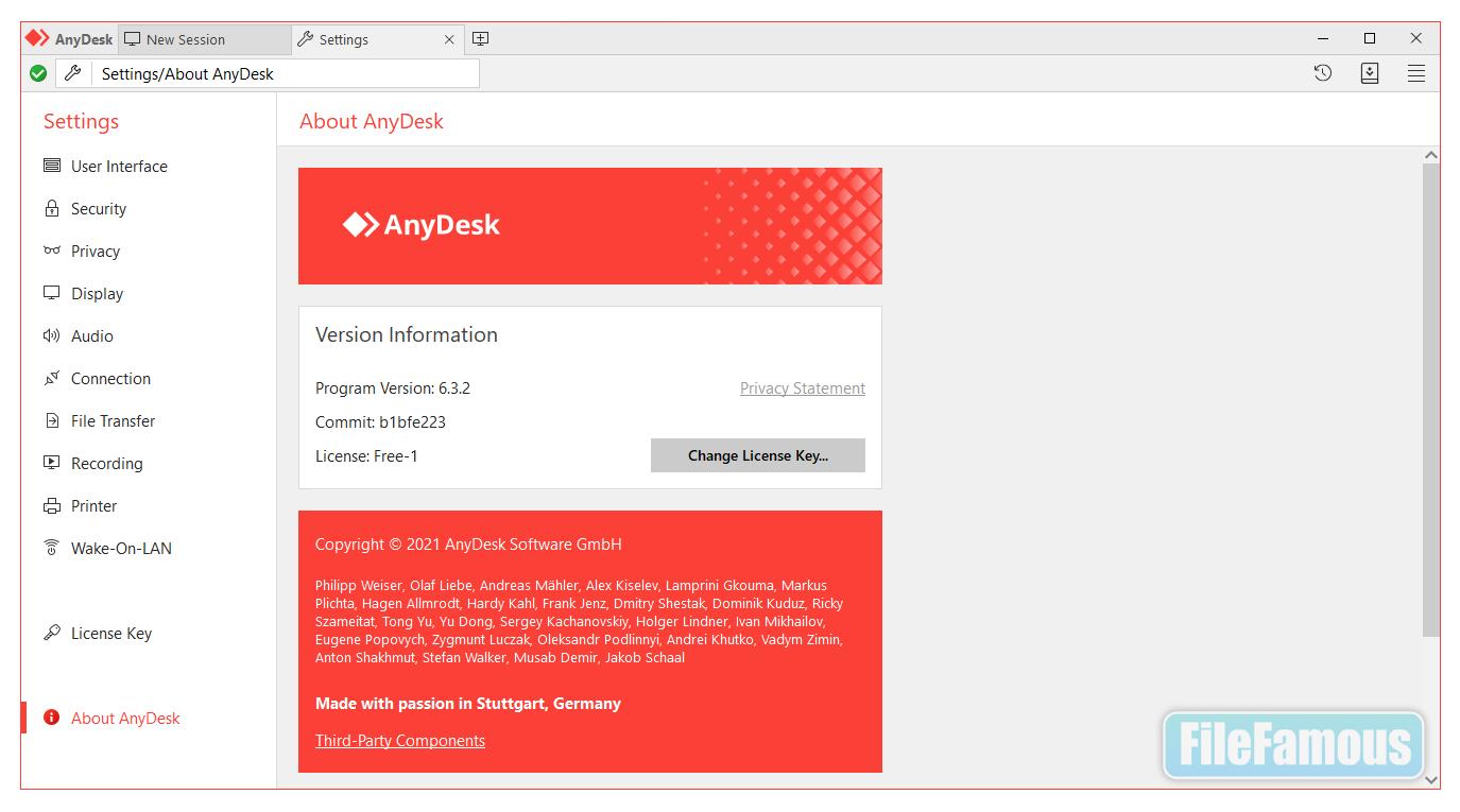 anydesk screenshot
