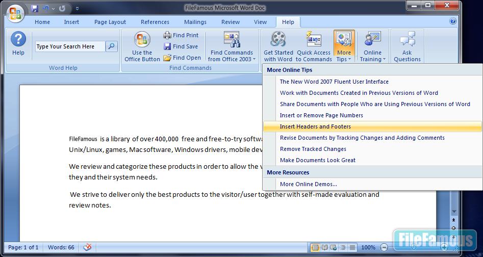 MS Office 2007 Enterprise Screenshot