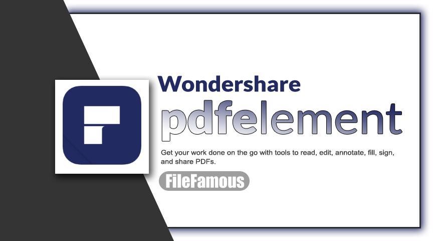 Wondershare PDFelement Cover Banner